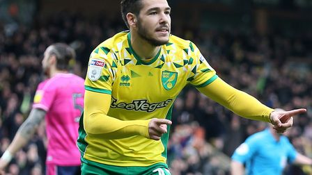 Emi Buendia returns for Norwich City at Stoke, after a three-game ban Picture: Paul Chesterton/Focus