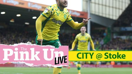 Follow our live Easter Monday matchday coverage as Norwich City head to Stoke hoping to close in on