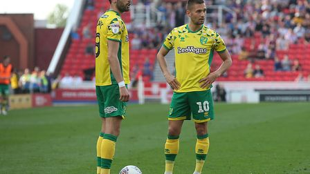 Mario Vrancic, left, had an impact off the bench once again Picture: Paul Chesterton/Focus Images