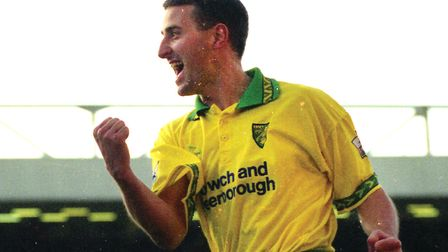 Canaries legend Neil Adams made 206 appearances between 1994 and 1999 Picture: Archant library