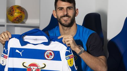Nelson Oliveira's loan stint at Reading has been repeatedly interrupted Picture: Reading FC