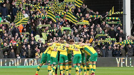 Norwich City's players will seal promotion if they get at least a point against Blackburn at Carrow