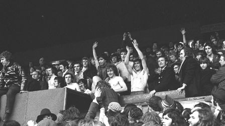 Norwich City secured promotion in 1972 with a 2-1 win at Leyton Orient, but celebrated the title at