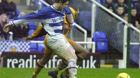 One of Jamie Cureton's most successful spells was at Reading, scoring 55 goals in 127 games between