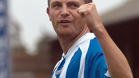 Jamie Cureton scored 31 goals in 56 games for Colchester United bwetween 2005 and 2007, before retur