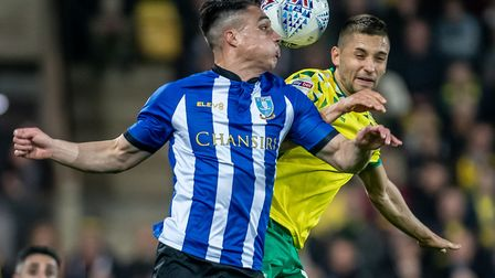 Maritz Leitner played the full game as Norwich dew with Wednesday at Carrow Road Picture: Matthew Us