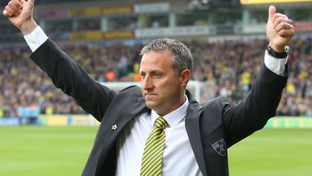 Neil Adams, pictured during his time in charge of Norwich City in the Premier League in 2014 Picture