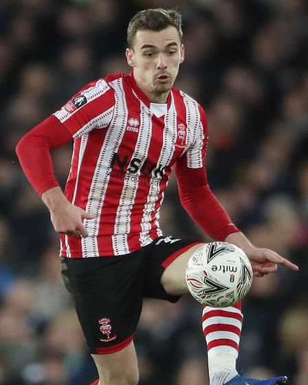 Norwich City academy product Harry Toffolo has had a great season for Lincoln Picture: Nick Potts/PA