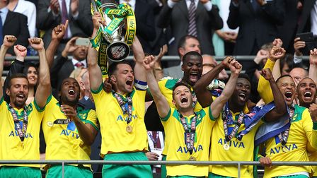 Norwich City secured promotion via the play-off final in 2015, after seeing second place slip away f