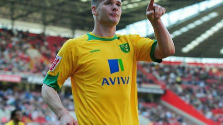 Michael Nelson's goal sealed promotion from League One as Norwich City won at Charlton in April 2011