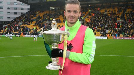 Player of the season last year, James Maddison Picture: Paul Chesterton/Focus Images Ltd