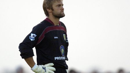 Former England goalkeeper Robert Green during his playing days at Norwich City. Picture: Archant