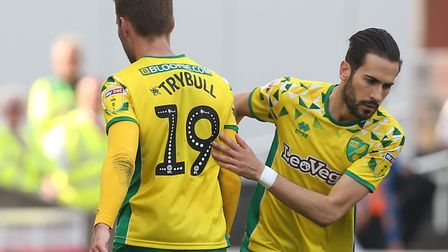 Tom Trybull was forced off at Stoke City with an ankle injury Picture: Paul Chesterton/Focus Images