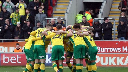 Norwich City need a point to make it a promotion party at Carrow Road against Blackburn Picture: Pau