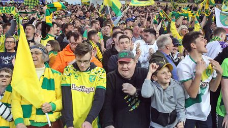 Norwich fans have been warned to stay off the pitch Picture: Paul Chesterton/Focus Images Ltd