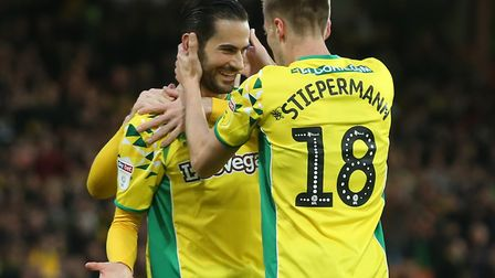 Mario Vrancic scored a goal which will be remembered for a long time by Norwich City fans Picture: P