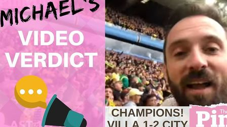 Here's to the champions! Michael Bailey delivers a special video verdict, pitchside from Villa Park,