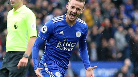 James Maddison has performed well for Leicester in the Premier League since leaving Norwich Picture: