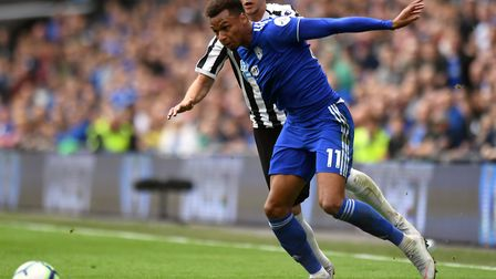 Josh Murphy wasn't able to prevent Cardiff's relegation Picture: Simon Galloway/PA