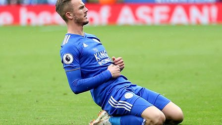 James Maddison has become an important player for Leicester in the Premier League Picture: Nigel Fre