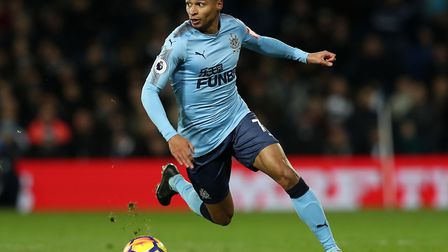 Jacob Murphy is currently on loan at West Brom from Newcastle Picture: David Davies/PA