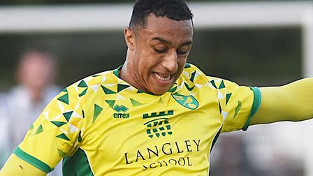 Norwich City U23s striker Adam Idah has been nominated for the PL2 Player of the Season award Pictur
