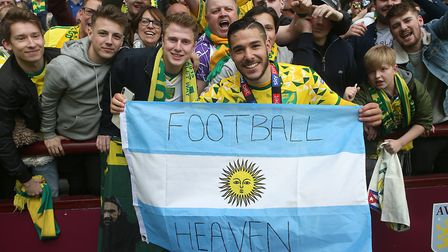 Young Argentine star Emi Buendia has lit up Norwich City's Championship campaign.