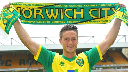 Ricky van Wolfswinkel was Norwich City's big-money signing in 2013 ahead of their Premier League cam