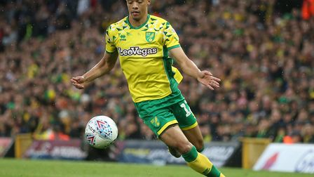 Jamal Lewis is counting the days until he plays in the Premier League for Norwich City Picture: Paul