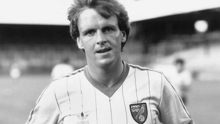 John Deehan is Norwich City's all-time top scorer in the top tier of English football Picture Archan