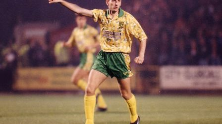 Ian Crook was an influential figure for Norwich City in the top tier Picture Archant library