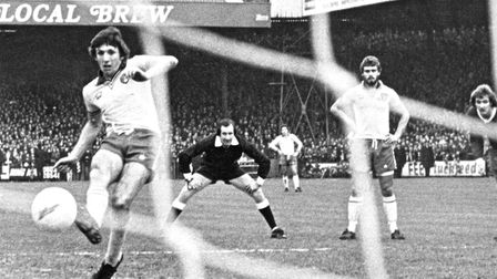 World Cup winner Martin Peters scored 42 top-flight goals for Norwich City Picture: Archant Library