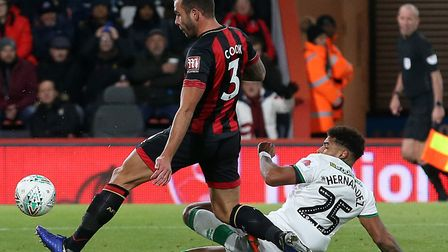 VAR was in use during City's loss at Bournemouth in the League Cup this season, when Onel Hernandez