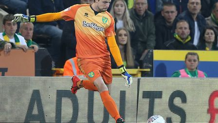 Tim Krul's distribution proved crucial for Norwich City Picture: Paul Chesterton/Focus Images Ltd