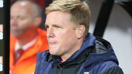 Bournemouth manager Eddie Howe was full of praise for Norwich City Picture: Paul Chesterton/Focus Im