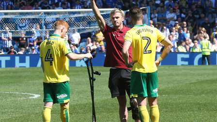 James Maddison's knee injury was a key moment in Norwich City's timeline Picture: Paul Chesterton/Fo