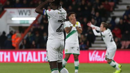 Norwich City came close to upsetting Premier League Bournemouth in the Carabao Cup last season. Pict
