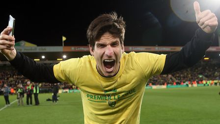 Timm Klose has signed a new Norwich City deal Picture: Paul Chesterton/Focus Images Ltd