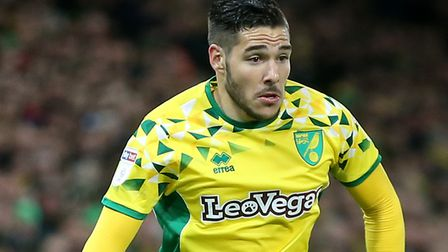 Emi Buendia wants to make his mark in the Premier League with Norwich City Picture: Paul Chesterton/