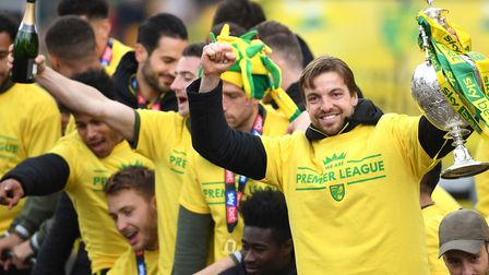 Norwich City goalkeeper Tim Krul will be back in the Premier League next season. Picture: Joe Gidden