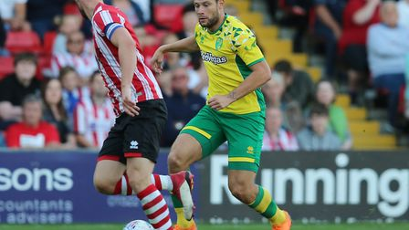 Yanic Wildschut featured during pre-season for Norwich City before joining Bolton on loan Picture: J