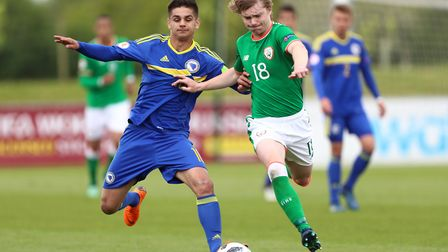 Republic of Ireland youngster Luca Connell has been linked with a move to Norwich City. Picture: PA