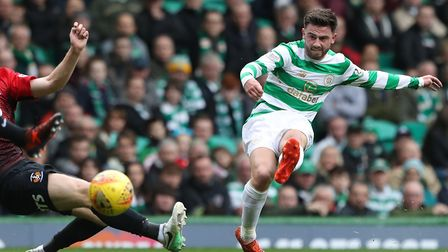 Manchester City striker Patrick Roberts, here in action for Celtic, has been linked with a season lo