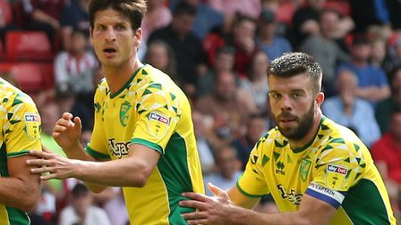 Timm Klose and Grant Hanley started this season as Norwich City's first choice centre-back pairing P