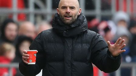 Rotherham boss Paul Warne couldn't prevent his team being beaten twice by Norwich City this season P