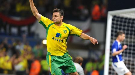 Russell Martin savours his goal in Norwich City's 5-1 hammering of Ipswich on the way to Premier Lea
