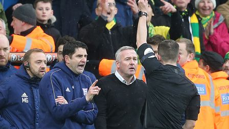 Paul Lambert crossed the East Anglian divide but masterminded a 9-2 aggregate win over Ipswich in No