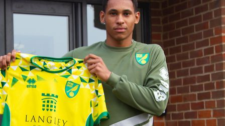 William Hondermarck joined Norwich City from Irish side Drogheda United in January Picture: Norwich