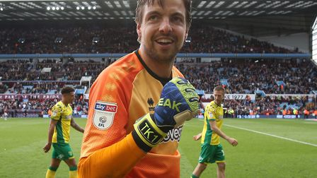 Tim Krul has signed a new long-term contract to keep him at Norwich City until 2022 Picture: Paul Ch