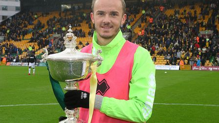 James Maddison was voted Player of the Season by Norwich City fans in 2018 Picture: Paul Chesterton/